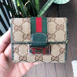 Gucci Monogram Vintage Wallet
